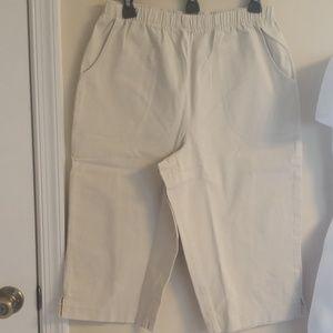 Denim &Company Tan Pants